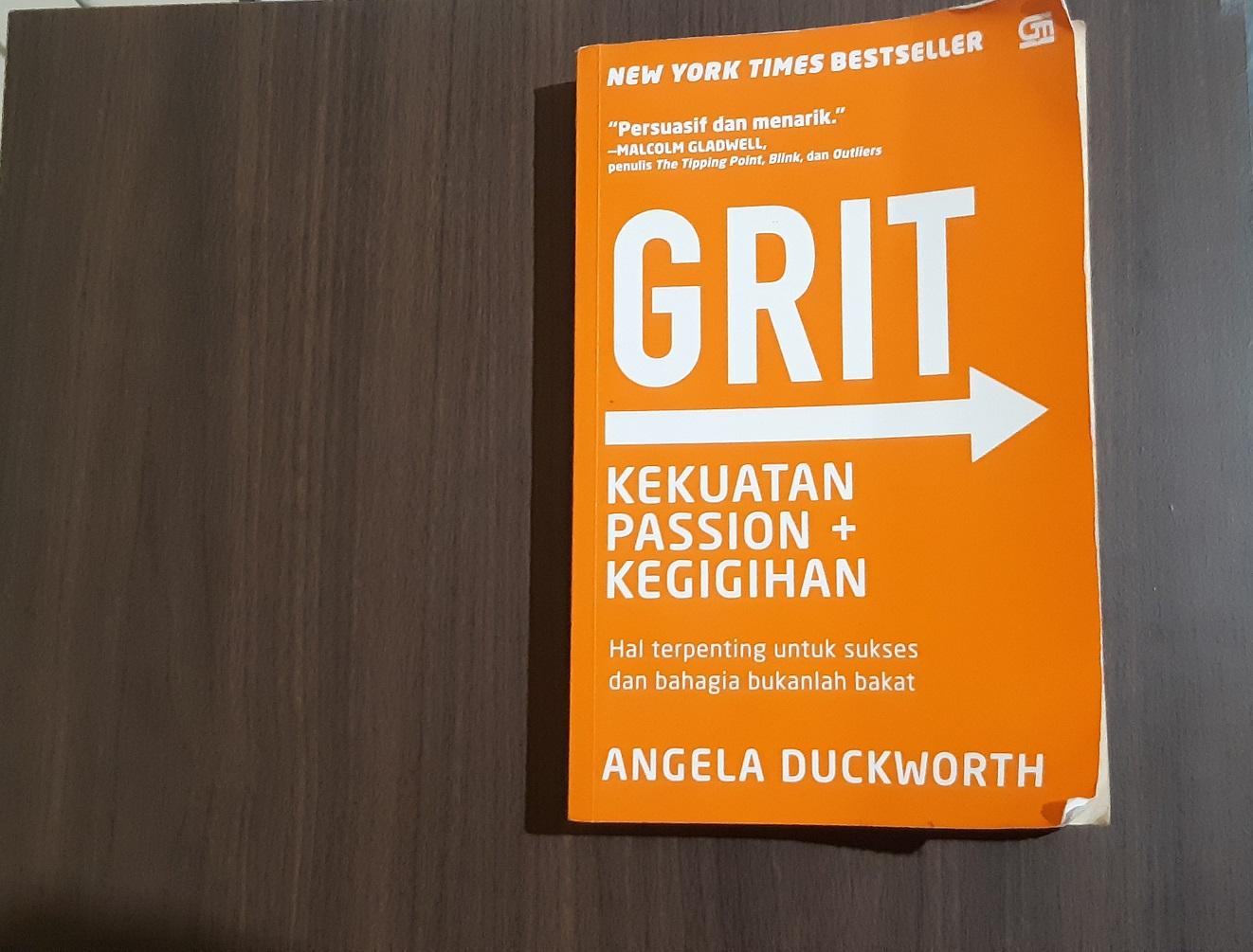 Rangkuman Buku GRIT by Angela Duckworth