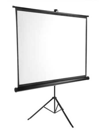 Layar Proyektor Tripod Projection Screen 70″